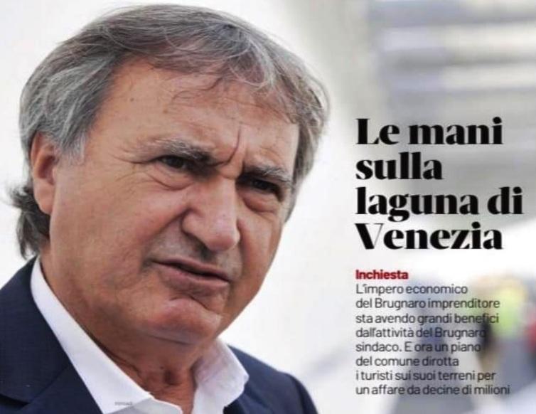 I CONFLITTI D'INTERESSE DEL SINDACO BRUGNARO